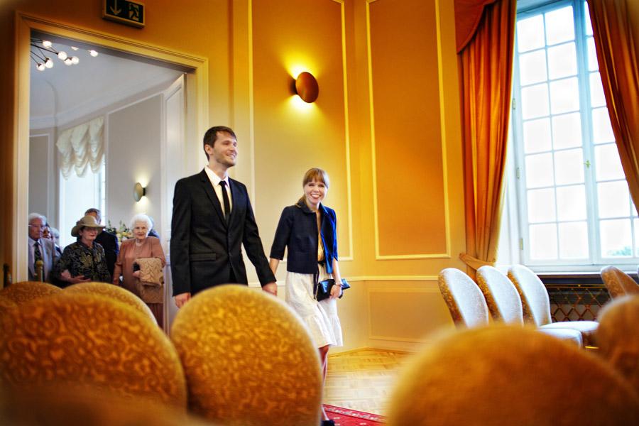 Matylda i Krzysztof – ślub cywilny w Pałacu Ślubów, Warszawa