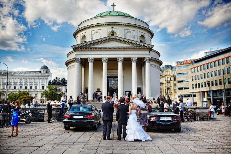 Monika i Michał – fotografia ślubna Warszawa